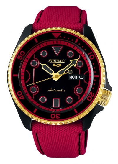 Seiko 5 Sports Street Fighter Edition SRPF20K1 (Pre-Order)